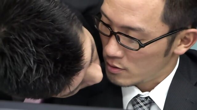 Watch Japanese Office Gay asian gayporn cumshot hd